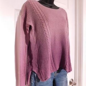 American Eagle Outfitters Ombre Sweater